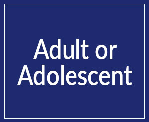 adult or adolescent button