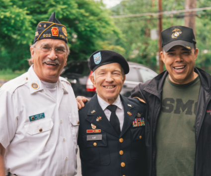 Veterans Smiling