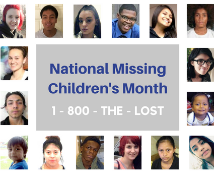 National Missing Children's Month Picture