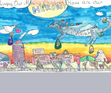 2020 Winner of Missing Children's Day Nebraska Poster Contest