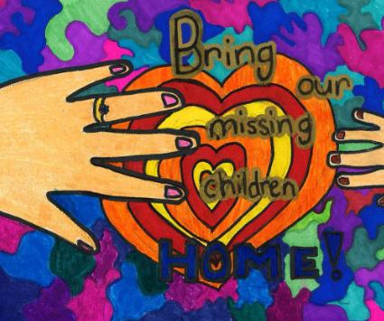 Missing Children's Day Poster Contest Winner 2018