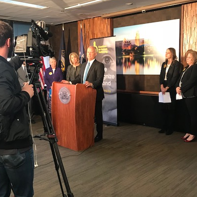 AG Peterson at Coalition on Human Trafficking