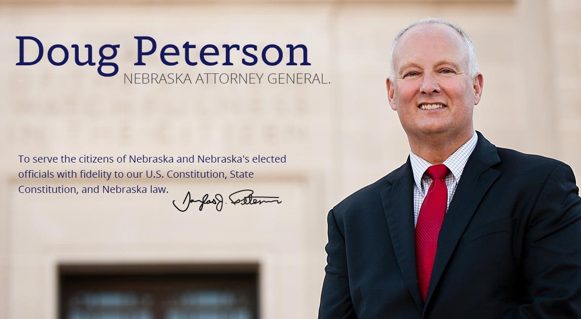 about nebraska attorney general doug peterson